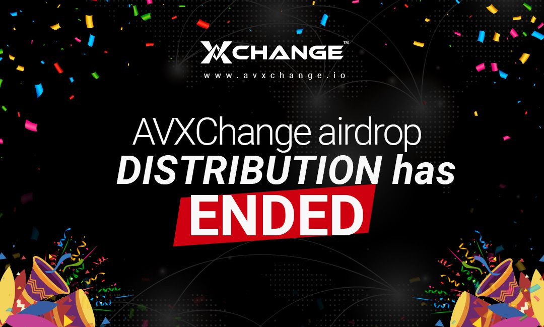 AVXChange Airdrop Distribution Announcement