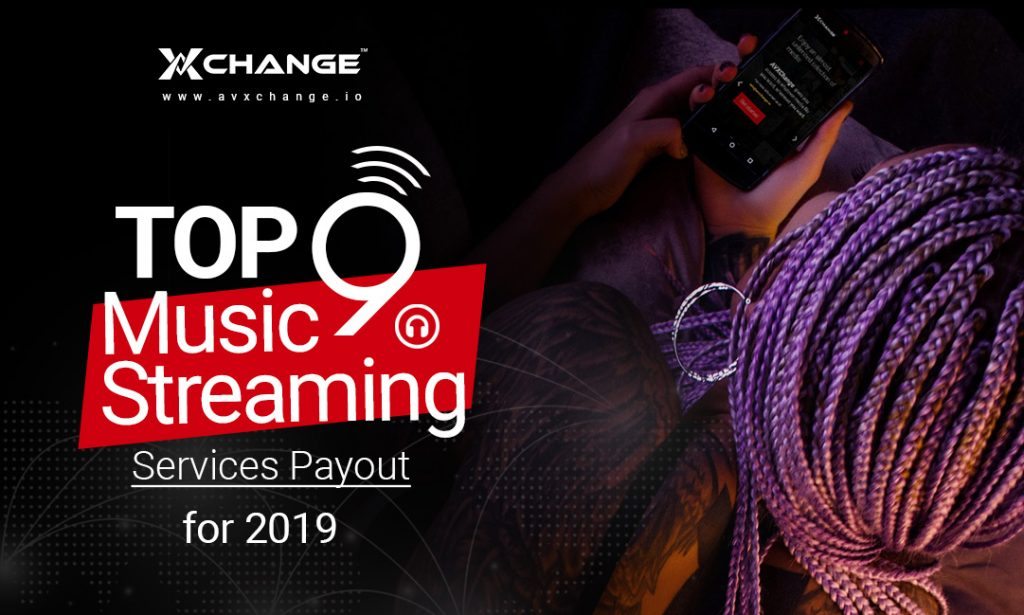 Top 9 Music Streaming Services Payout for 2019