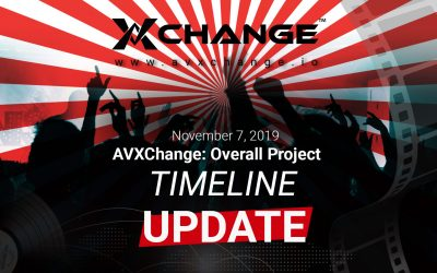 AVXChange: Overall Project Timeline Update November 7, 2019